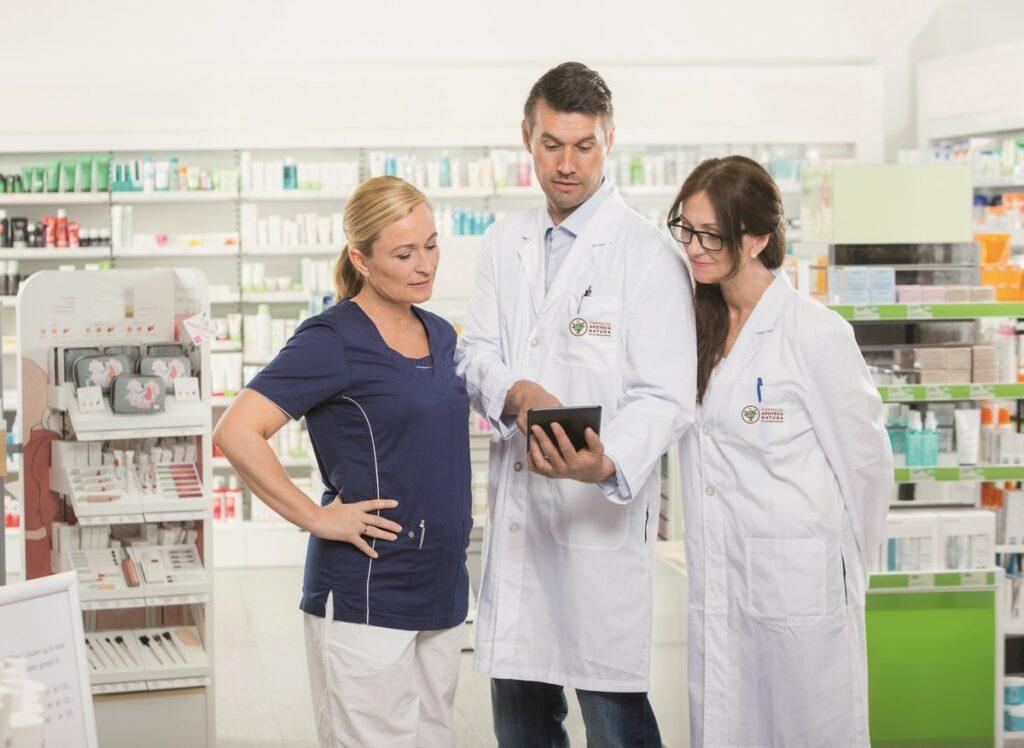 farmacêutico como Especialista em Saúde - Apoteca NAtura